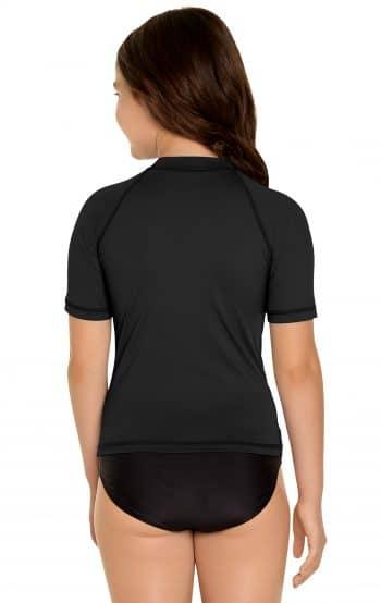 Rash Guard Short Sleeve - Black